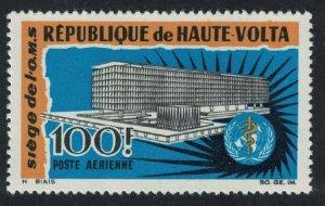 Upper Volta Inauguration of WHO Headquarters Geneva 1v 1966 MNH SG#195