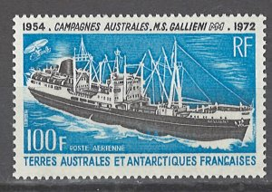 COLLECTION LOT # 2488 FRENCH S&AT #C28 MNH 1973 CV=$25