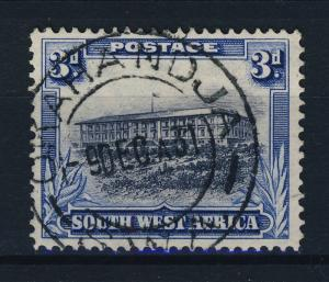 SOUTH-WEST-AFRICA - 1931  OKAHANDJA /  S W A  CDS ON SG 77(eng) 3d Grey & Blue