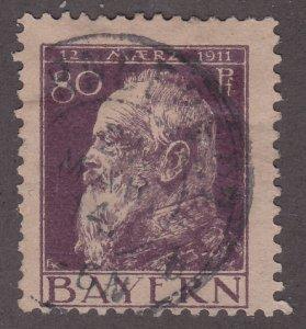 Bavaria 85 Prince Regent Luitpold 1911