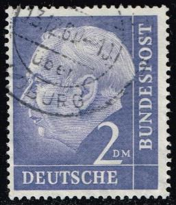 Germany #720 Theodor Heuss; Used (1.20)