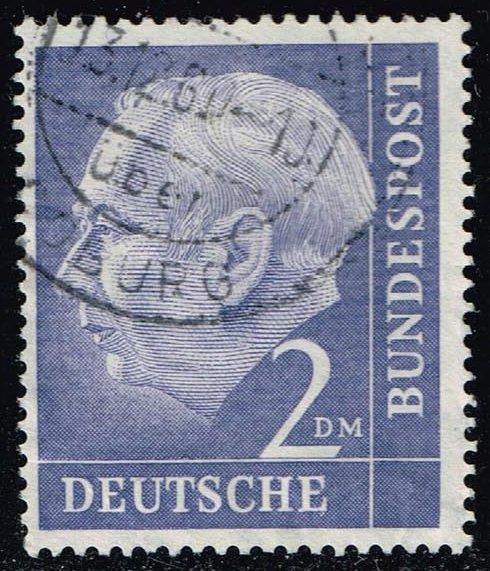 Germany #720 Theodor Heuss; Used (1.20)