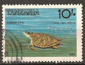 Tanzania #330 F-VF Used CV $3.00  (ST476)