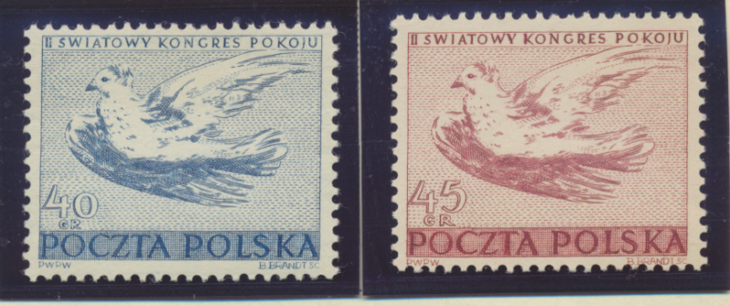 Poland Stamps Scott #487 To 488, Mint Hinged - Free U.S. Shipping, Free World...