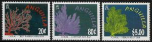 Anguilla #941-3 MNH Set - Corals - Marine Life