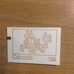 Canada BK69f Type III  Pre stamped Counting mark   complete booklet