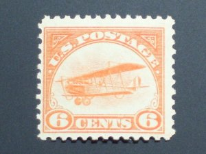 US Airmail Stamp - Scott# C1 Mint NH Single