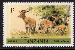Tanzania 167 Impala MNH VF