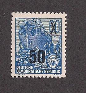 GERMANY - DDR SC# 222 F-VF OG 1954