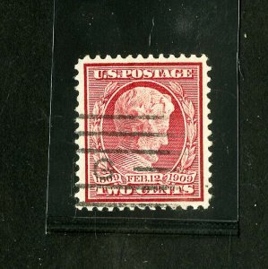 US Stamps # 369 Superb Choice used gem on bluish paper