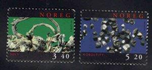 Norway Scott 1196-1197 MNH** Mineral set 1998