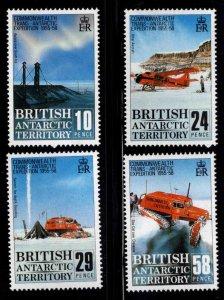 British Antarctic Territory (BAT) Scott 145-148 MNH** set