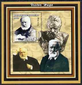 Mozambique 2002 Victor Hugo perf s/sheet containing 1 val...