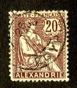 FR OFF IN ALEXANDRIA /EGYPT CHINA 23 USED  SCV $1.50  BIN$.60