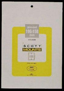 Scott/Prinz Pre-Cut Souvenir Sheets Small Panes Stamp Mounts 196x158 #1013 Clear