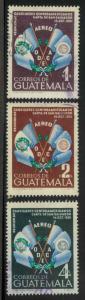Guatemala C204-C206 Used VF (C204 cr, C206 writing on rev)
