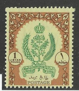 LIBYA # 167 MNH