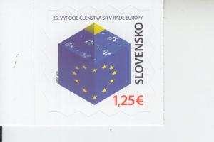 2018 Slovakia European Council Membership SA (Scott 798) MNH