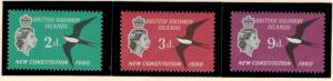 British Solomon Islands Stamps Scott #106-8, Mint Lightly Hinged - Free U.S. ...