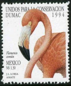 MEXICO 1864, Flamingo - United for Conservation MINT, NH. VF.