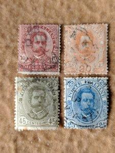 Italy 68-71 VG, CV $22.50