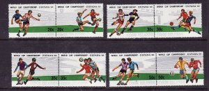 Cook Is.-Sc#661-4- id2-unused NH set-Sports-World Cup Soccer-1982-