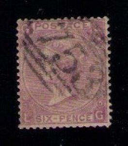 Great Britain Sc #45 (P5) Used F-VF CV $85.00