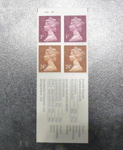 GB Stamps Books SG FB63  DB14(22) Harrison B35 B2   1992 ~~L@@K~~