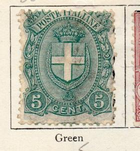 Italy 1901-05 Early Issue Fine Used 5c. 273603