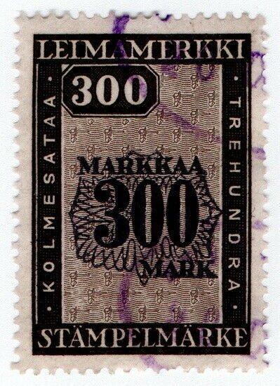 (I.B) Finland Revenue : Duty Stamp 300m