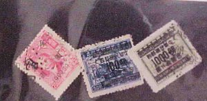 CHINA STAMPS #885C/925A,933A USED cat.$53.00