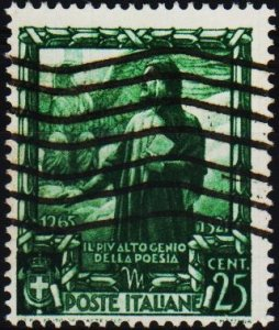 Italy. 1938 25L  S.G.536 Fine Used