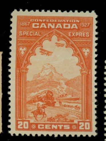 Canada #E3 MINT F-VF OG HR Cat$35
