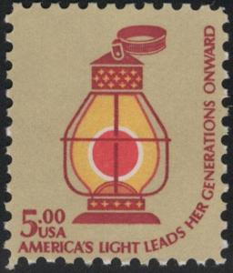 US Stamp Scott # 1612 Mint NH Railroad Conductor's Lantern