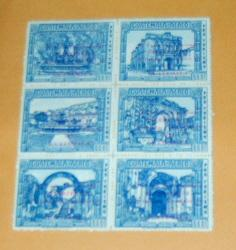 Guatemala - C480-5a, MNH Ovpt. Antigua Arches. SCV - $3.00