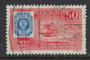 Colombia C352 Used 1959 issue (ap6689)