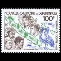NEW CALEDONIA 1982 - Scott# C186 Overseas Week Set of 1 NH