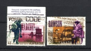 Canada #1606b,d    used VF 1996  PD