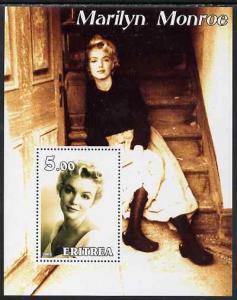 Eritrea 2002 Marilyn Monroe perf m/sheet #2 unmounted mint