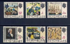 Seychelles 263-270 Used VF short set