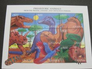 Ghana 1999 Sc 2090 Bird set MNH