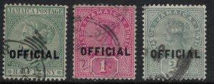 Jamaica #O2-4  CV $4.75