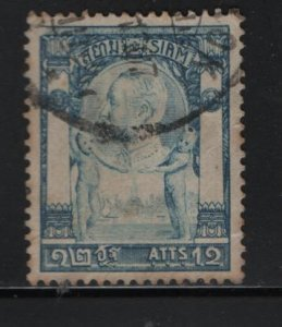THAILAND, 102, USED, 1905-08, KING TYPE