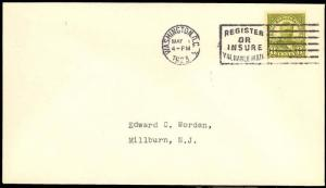 560, WASHINGTON, DC FIRST DAY COVER - ED WORDEN