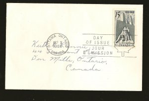 Canada 486 15 Cent Armistice 1968 First Day Cover Addressed