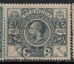 Bermuda 1921 SC 74 Used SVC 55.00 Stamp