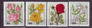 J20761 Jlstamps 1982 berlin germany set mnh #9nb193-6 flowers