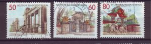J20739 Jlstamps 1986 berlin germany set used #9n512-4 gateways