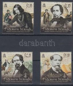 Pitcairn Islands stamp 200th birth anniversary of Charles Dickens set WS123683