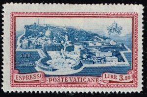 ITALY VATICAN CITY STAMP #E5 1945 Express Stamp  MH/OG STAMP